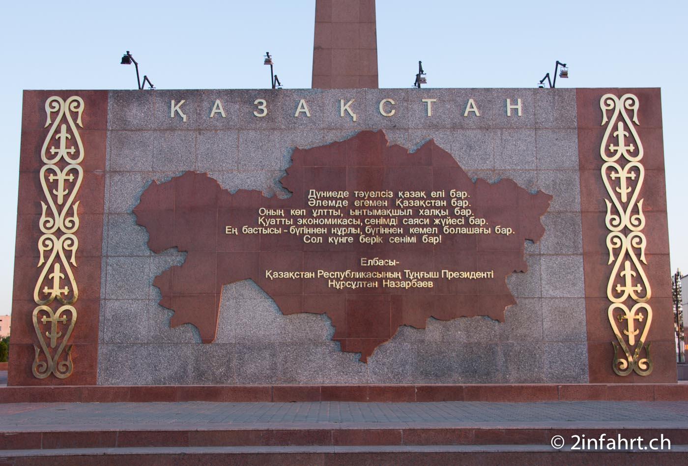 Kasachstan – Teil 1: vom Kaspischen Meer nach Kirgistan