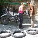 Neue Reifen von muztoo.ch in Osh Kirgistan