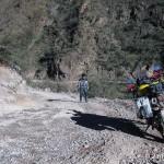 Strasse im Kupfercanyon nach Batopilas Barranca del cobre