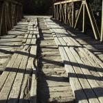 Die Brücke im Barranca del Cobre nach Batopilas